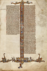 Biblia Sacra (manuscript), probably York, 13th century
